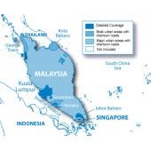 Сингапур и Малайзия NT 2016.20 - карта для навигаторов GARMIN