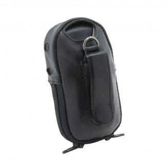 Чехол для навигатора Garmin eTrex 10/20/20X/22Х/30/30X/32X с окном под зарядку (натуральная кожа)