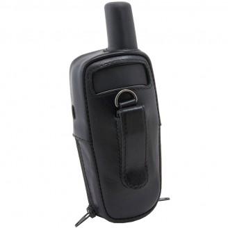 Чехол для навигатора Garmin GPSMAP 64 / 62 с окном под зарядку (натуральная кожа)