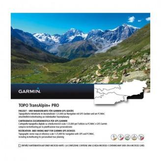 Карта для Garmin - Альпы TOPO TransAlpine PRO 4