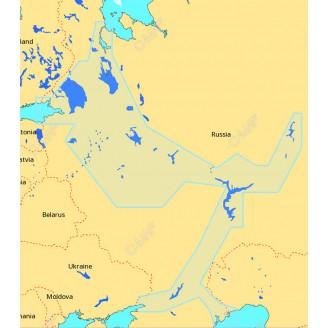 C-MAP MAX-N Россия Западная часть для Lowrance (RS-N050 Continental)