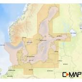 C-MAP MAX-N Балтийское море и Дания для Lowrance (EN-N299 WIDE)