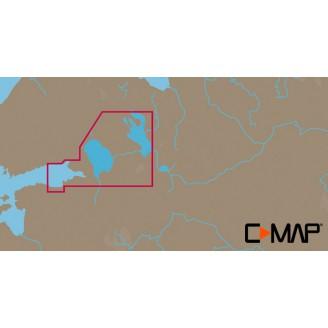 C-MAP MAX-N Русские озера (Ладога, Онега) для Lowrance (EN-N604 WIDE)