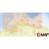 C-MAP MAX-N Северное побережье России для Lowrance (RS-N203 WIDE)