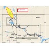 C-MAP MAX-N  р. Волга Рыбинск - Чебоксары, Рыбинское вдхр, Волго-Балт для Lowrance (RS-N214 WIDE)