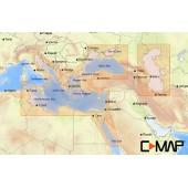 C-MAP MAX-N Восточная часть Средиземного моря, Черное и Каспийское моря для Lowrance (EM-N111 WIDE)