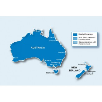 Австралия и Новая Зеландия NT 2020.30 - карта для навигаторов GARMIN