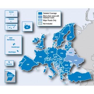 Европа NTU 2021.10 карта для навигаторов GARMIN на microSD