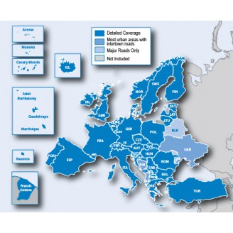 Европа NTU 2021.10 карта для навигаторов GARMIN
