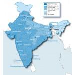 Индия 2016.40 NT - карта для навигаторов GARMIN