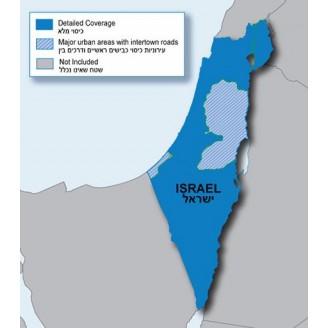 Израиль NT 2016.10 - карта для навигаторов GARMIN