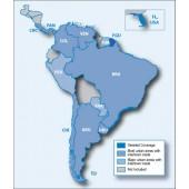 Южная Америка NT 2019.10 - карта для навигаторов GARMIN