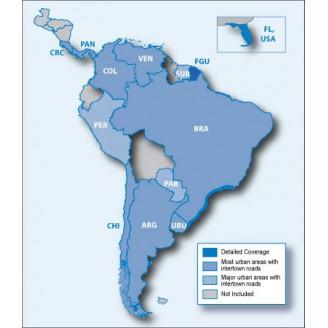 Южная Америка NT 2021.10 - карта для навигаторов GARMIN