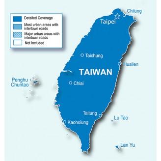 Тайвань NT 2019.10 - карта для навигаторов GARMIN