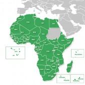 Рекреационная карта Африки для навигаторов Garmin