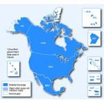 Северная Америка NT 2020.10 - карта для навигаторов GARMIN