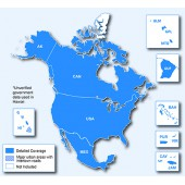 Северная Америка NT 2022.10 - карта для навигаторов GARMIN