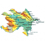 Азербайджан 2017 - карта для навигаторов GARMIN