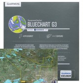 Карта глубин Россия для Garmin HEU062R  Внутренние водные пути России 2020.5 (22.00) microSD