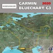 Карта глубин Западная часть России для туристических навигаторов 2019.0 (20.50) HEU062R