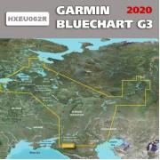 Карта глубин Россия для Garmin HEU062R  Внутренние водные пути России 2019.0 (20.50)