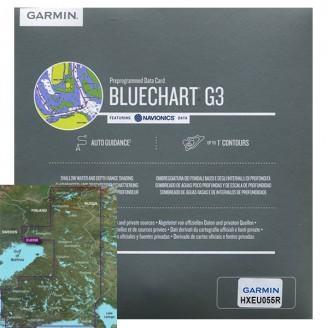 Финские озера HXEU055R BlueChart g3 HD v2019 (20.50) MicroSD