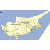 Кипр 2017Q1  - карта для навигаторов GARMIN
