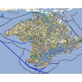 Крым 2019.1 - карта для навигаторов GARMIN