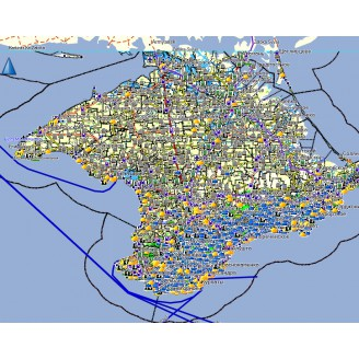 Крым 2021.1 - карта для навигаторов GARMIN