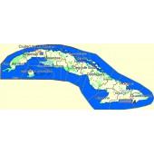 Куба 2017 - карта для навигаторов GARMIN