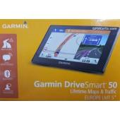 Навигатор Garmin DriveSmart 50LMT Европа с пробками