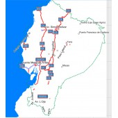 Эквадор 2018 Авто + Топо - карта для навигаторов GARMIN