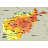 Афганистан v.5 - карта для навигаторов GARMIN