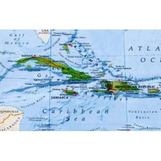 Карибские Острова - карта для навигаторов GARMIN