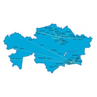 Казахстан NT 2013.5 - карта для навигаторов GARMIN