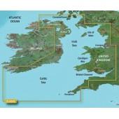 Ирландское море 2014.0 (15.50) VEU004R BlueChart G2 Vision