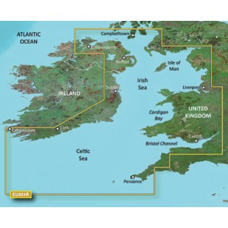 BlueChart g2 Vision - VEU004R - Irish Sea 2014.0 (15.50) Ирландское море
