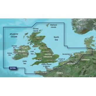 Великобритания, Ирландия, Нидерланды 2014.0 (15.50) VEU706L BlueChart G2 Vision