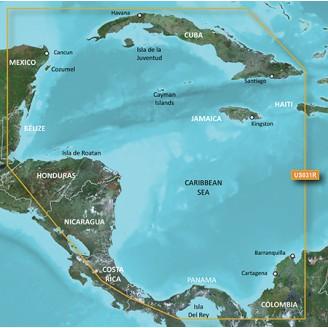 Карибское море Юго-Запад 2015.5 (v17.00) VUS031R BlueChart G2 Vision