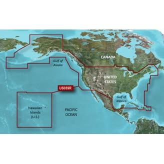 BlueChart g2 HD - HUS039R - США и Западное побережье Канады 2016.0 (v17.50)