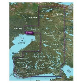 BlueChart g2 Vision: VEU055R - Finnish Lake 2012.5 (v14.00) Финские озера