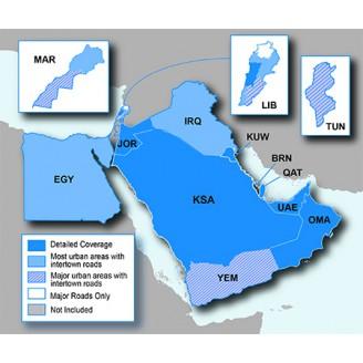 Ближний Восток и Северная Африка NT 2019.20 - карта для навигаторов GARMIN