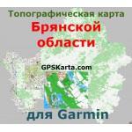 Брянская область для Garmin v2.0 (IMG)