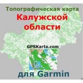 Калужская область для Garmin v2.0 (IMG)