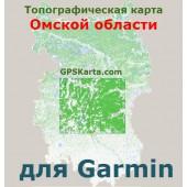 Омская область для Garmin v2.0 (IMG)