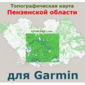 Пензенская область для Garmin v2.0 (IMG)