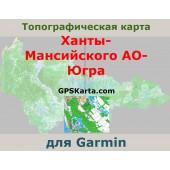 Ханты-Мансийский АО - Югра топография для Garmin v2.0 (IMG)