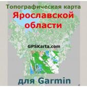 Ярославская область топографическая карта для Garmin v2.0 (IMG)