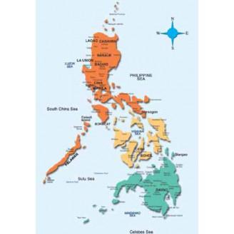 Филиппины NT 2016.40 - карта для навигаторов GARMIN