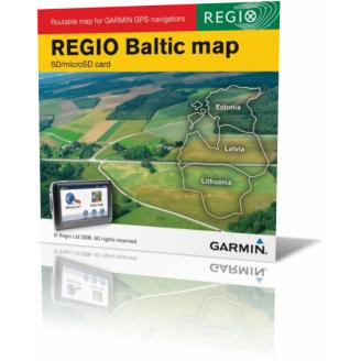 Карта для Garmin - Прибалтика v1.10